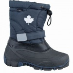 Canadians Mädchen und Jungen Winter Synthetik Tex Boots navy, Warmfutter, weiches Fußbett, 4537116