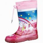 Beck Wonderland Mädchen Gummistiefel aus Gummi pink, Baumwollfutter, herausnehmbare Einlegesohle, 5032103