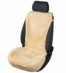 kuschelweiche Universal Lammfell Autositz Auflage beige für alle PKW, Sommer + Winter, 100% australische Lammfelle