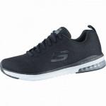 Skechers Transform coole Damen Mesh Sneakers black, Air-Cooled-Memory-Foam-Fußbett, 4238144