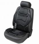 Universal PKW Sitzauflage schwarz mit Heizfunktion, 5 Massagestufen, Heizfunktion auf Rückenlehne