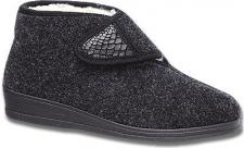 Pantofino Damen Hausschuhe grau, Filz, 1927125/38