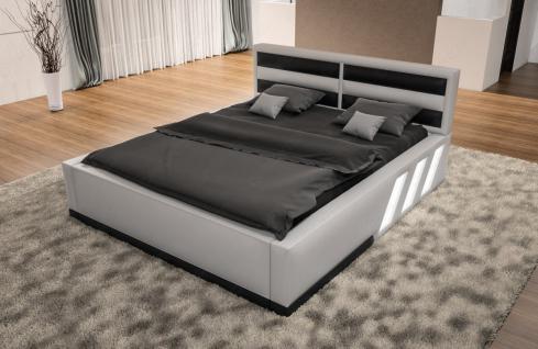design boxspringbett apollonia mit beleuchtung kaufen. Black Bedroom Furniture Sets. Home Design Ideas