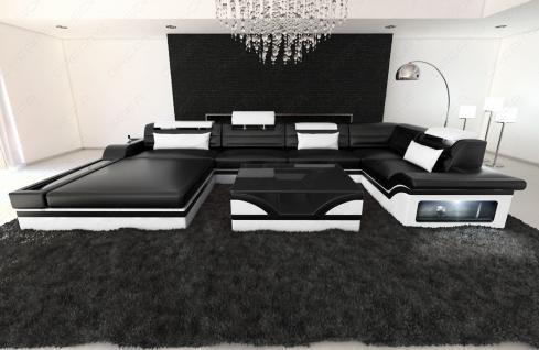 Luxus wohnlandschaft mezzo mit led kaufen bei pmr for Luxus wohnlandschaft