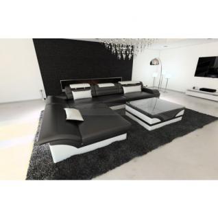 ledersofa weiss g nstig sicher kaufen bei yatego. Black Bedroom Furniture Sets. Home Design Ideas