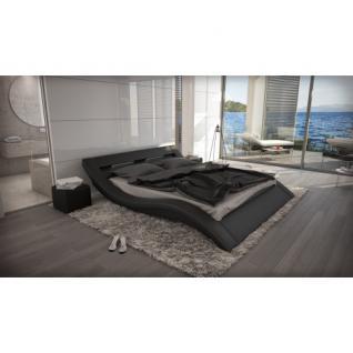 wasserbett massa led schwarz komplett set kaufen bei pmr handelsgesellschaft mbh. Black Bedroom Furniture Sets. Home Design Ideas