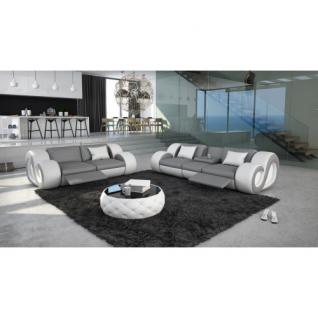 3 sitzer und 2 sitzer sofa nesta mit beleuchtung kaufen bei pmr handelsgesellschaft mbh. Black Bedroom Furniture Sets. Home Design Ideas