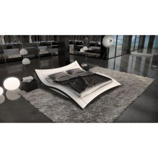 Design Komplettbett ANCONA LED + Matratze + Lattenrost
