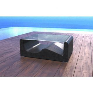 Rattan Tisch WAVE