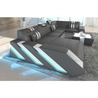 design leder couch g nstig online kaufen bei yatego. Black Bedroom Furniture Sets. Home Design Ideas