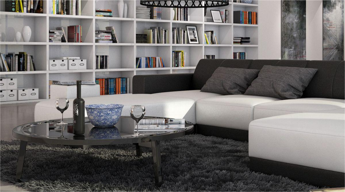 ecksofa ferragamo u form kaufen bei pmr. Black Bedroom Furniture Sets. Home Design Ideas