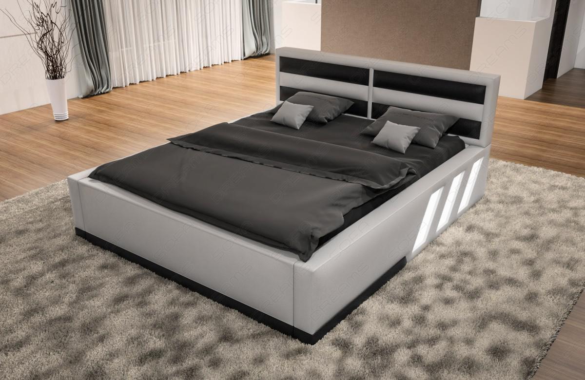 design boxspringbett apollonia mit beleuchtung kaufen bei pmr handelsgesellschaft mbh. Black Bedroom Furniture Sets. Home Design Ideas