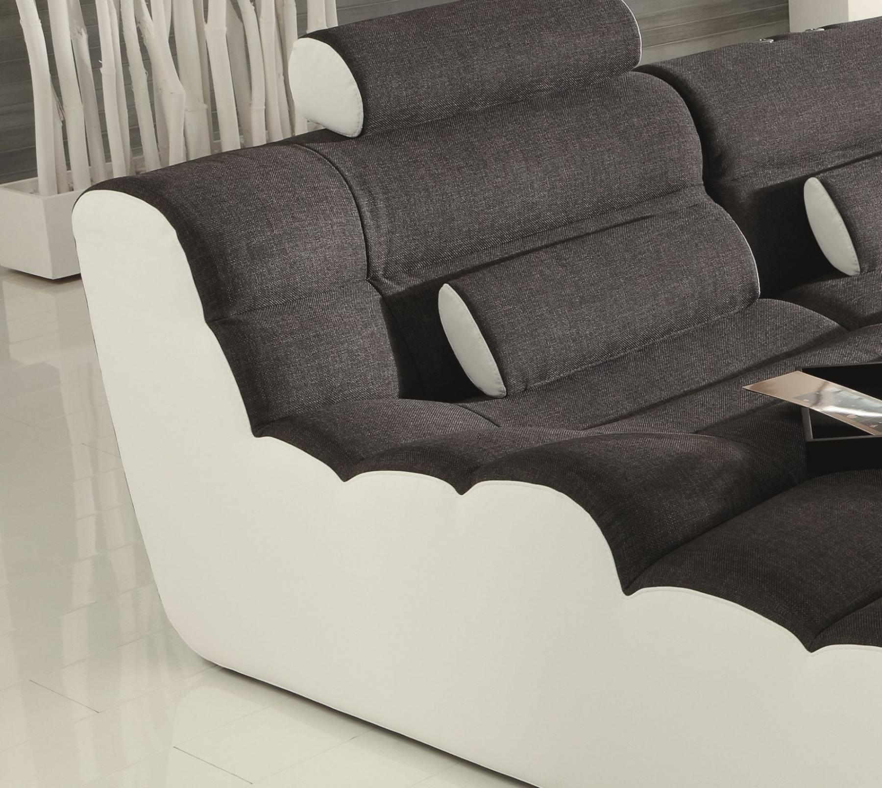 wohnlandschaft elements six mit 2 liegefl chen kaufen bei pmr handelsgesellschaft mbh. Black Bedroom Furniture Sets. Home Design Ideas