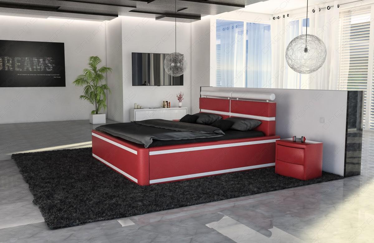 polsterbett venedig mit led beleuchtung kaufen bei pmr handelsgesellschaft mbh. Black Bedroom Furniture Sets. Home Design Ideas