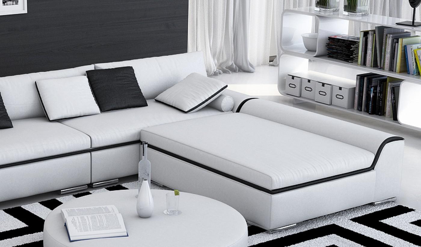 ledersofa azuro ecksofa kaufen bei pmr handelsgesellschaft mbh. Black Bedroom Furniture Sets. Home Design Ideas