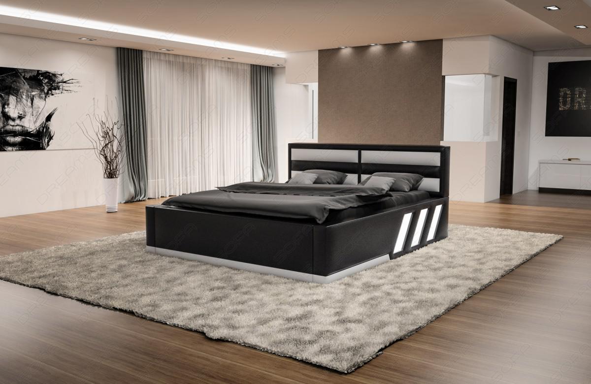 designer bett apollonia mit beleuchtung kaufen bei pmr handelsgesellschaft mbh. Black Bedroom Furniture Sets. Home Design Ideas