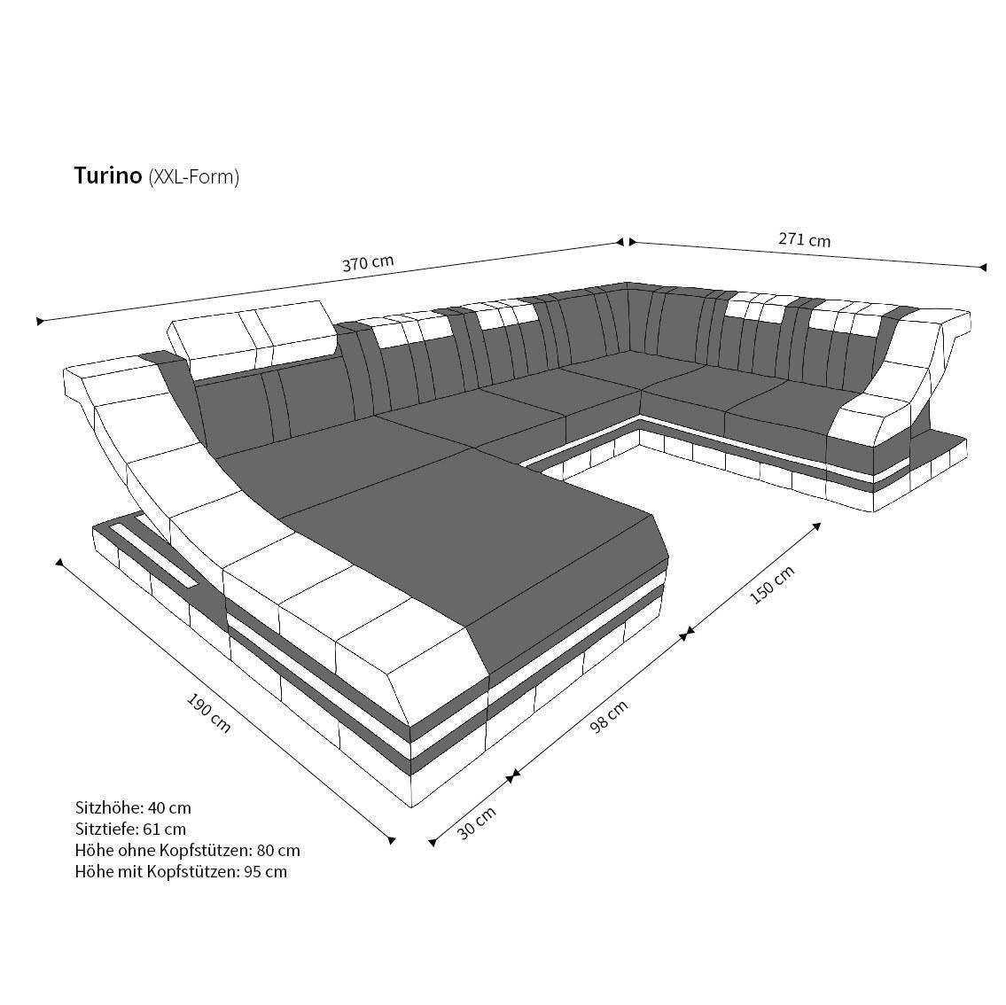 wohnlandschaft design stoff. Black Bedroom Furniture Sets. Home Design Ideas