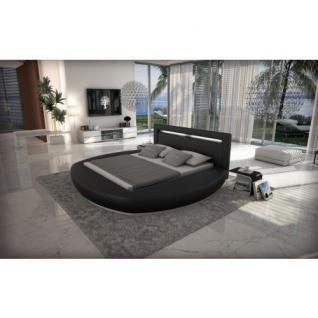 rundbett riva mit led beleuchtung kaufen bei pmr handelsgesellschaft mbh. Black Bedroom Furniture Sets. Home Design Ideas