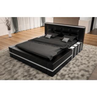 luxus boxspringbett asti mit beleuchtung kaufen bei pmr handelsgesellschaft mbh. Black Bedroom Furniture Sets. Home Design Ideas