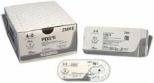 Nahtmaterial PDS II ungefärbt 4-0. mit Nadel FS-2 S. 45 cm Faden (2 Dtz.) resorbierbar