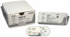Nahtmaterial PDS II ungefärbt 4-0. mit Nadel FS-2. 70 cm Faden (2 Dtz.) resorbierbar