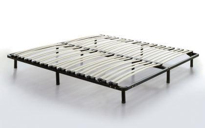 """Lattenrost Lattenrahmen """"Roma"""" freistehend mit Standfüßen 180 x 200 cm günstig - Auch OHNE Bett verwendbar"""