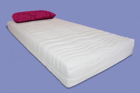 wellness 7 zonen kaltschaum matratze luxus h he 20 25 cm. Black Bedroom Furniture Sets. Home Design Ideas