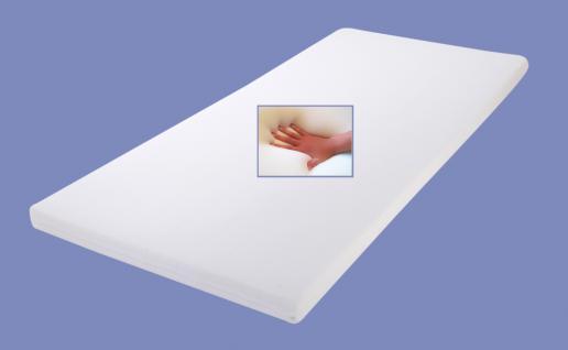 Leder Boxspring Bett Nizza weiss 180 x 200 cm mit LED Beleuchtung Boxspringbett Gel Gelschaum Topper günstig - Vorschau 2