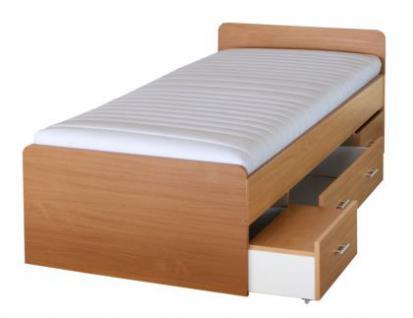 futon bett rom futonbett holzbett farbe schwarz weiss buche ahorn nussbaum oder nocce. Black Bedroom Furniture Sets. Home Design Ideas