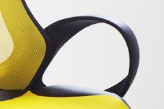 "Designer Chefsessel Bürosessel ""New Age"" Farbe blau / gelb oder grün Bürostuhl Computersessel - Vorschau 4"