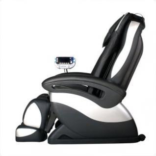 massagesessel shiatsu f1 schwarz silber mit rollentechnik heizung armmassage g nstig. Black Bedroom Furniture Sets. Home Design Ideas