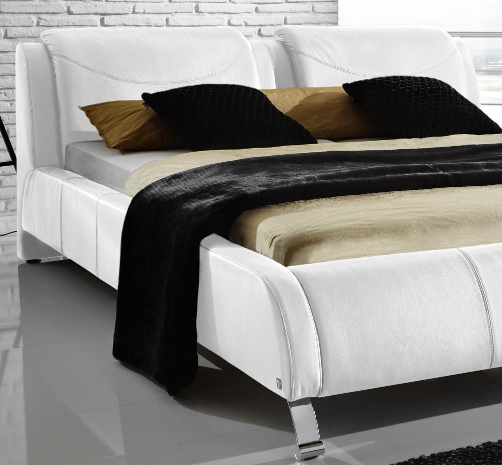 echtleder bett free bett echtleder bespannt inkl matratze und lattenrost in ingolstadt with. Black Bedroom Furniture Sets. Home Design Ideas
