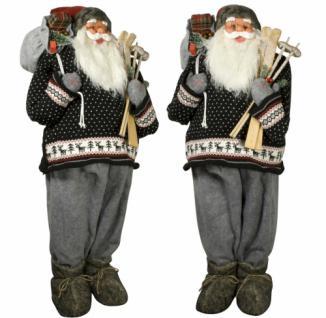Weihnachtsmann Santaclaus Nikolaus NILS 120 cm