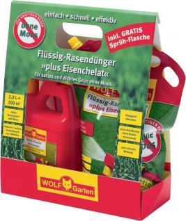 MTD 3 x Plus Eisenchelat Flüssig-Rasendünger 2 Liter