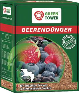 GREEN TOWER Beerendünger 2 Karton à 1, 0 kg