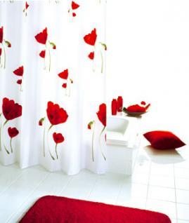 textil duschvorhang rot online bestellen bei yatego. Black Bedroom Furniture Sets. Home Design Ideas