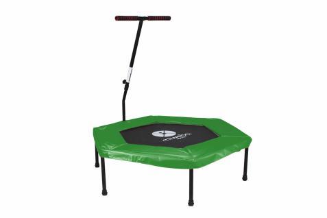 Miweba JUMPNESS Fitness Trampolin Hexagon 48`grün inklusive Pad
