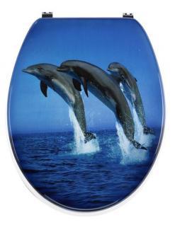 WC Deckel Absenkautomatik Soft Close SANWOOD Delphine JUMP