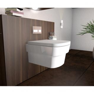 "Hänge WC Modell "" Stufo"" inklusive Soft Close Deckel abnehmbar"
