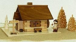 Echt Erzgebirge Räucherhaus, Zur alten Mühle