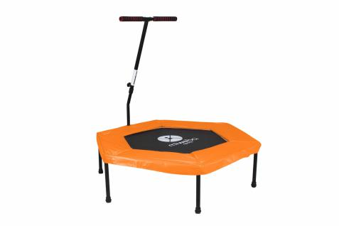Miweba JUMPNESS Fitness Trampolin Hexagon 48`orange inklusive Pad