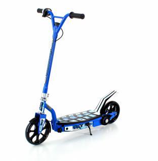 SXT100 Elektroscooter blau Kinderscooter Roller