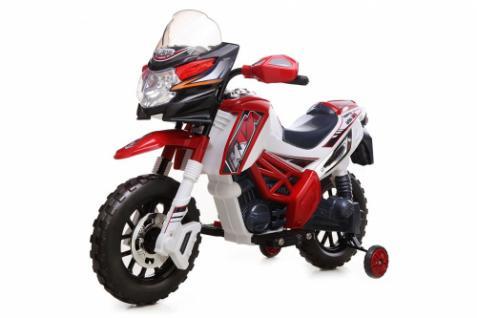 Kinder Elektrofahrzeug Motorrad Rot - 6V