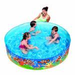 Bestway Fixbecken Fill N' Fun Pool Quickpool Swimmingpool 183 x 38 cm Clownfish