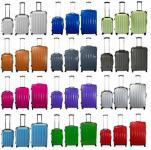 Kofferset 3 tlg Trolley-Set Reisekoffer Polycarbonat Hartschale