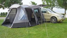 Tunnelbuszelt Zelt RIVA DELUXE 2, mit Schlafkabine für 2 Personen