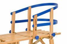 Schlittenlehne Kunststoff für Hörnerrodel, Davos Holzschlitten