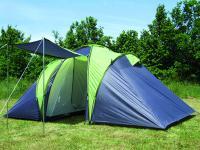 Familienzelt Zelt Campingzelt SIERRA 6 mit 2 Schlafkabinen, 6 Personen