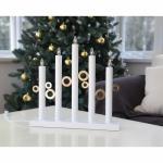 LED-Weihnachtsleuchter, CIRCLE LIGHT, 5 LEDs