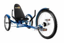 Mobo Triton Cruiser Pro Liegefahrrad Kinderdreirad - BLAU - ab 12 Jahre bis Erwachsene